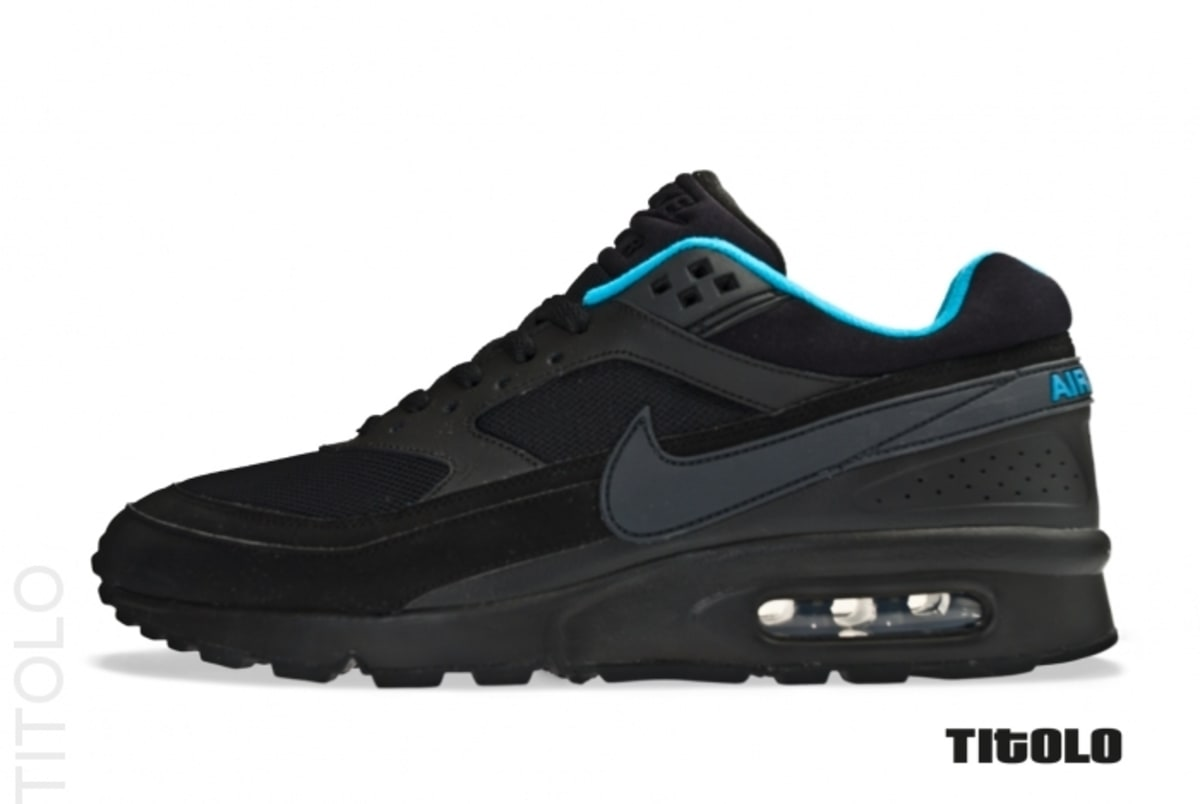 nike air max classic bw black dynamic blue complex. Black Bedroom Furniture Sets. Home Design Ideas