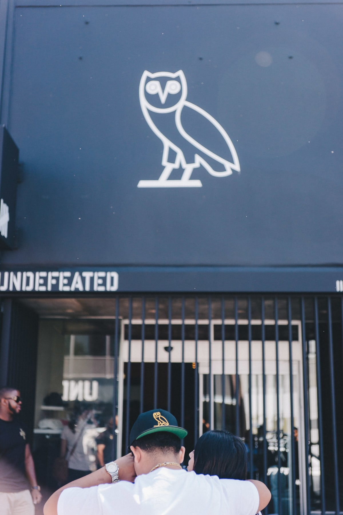 Street Style at the OVO Pop-Up Shop in Los Angeles