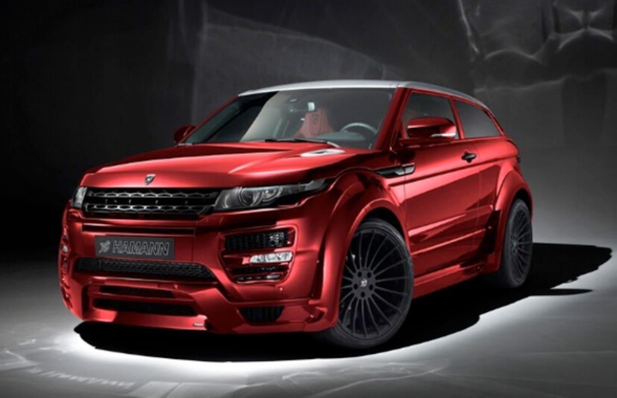 Hamann Revamps Custom Range Rover Evoque Complex