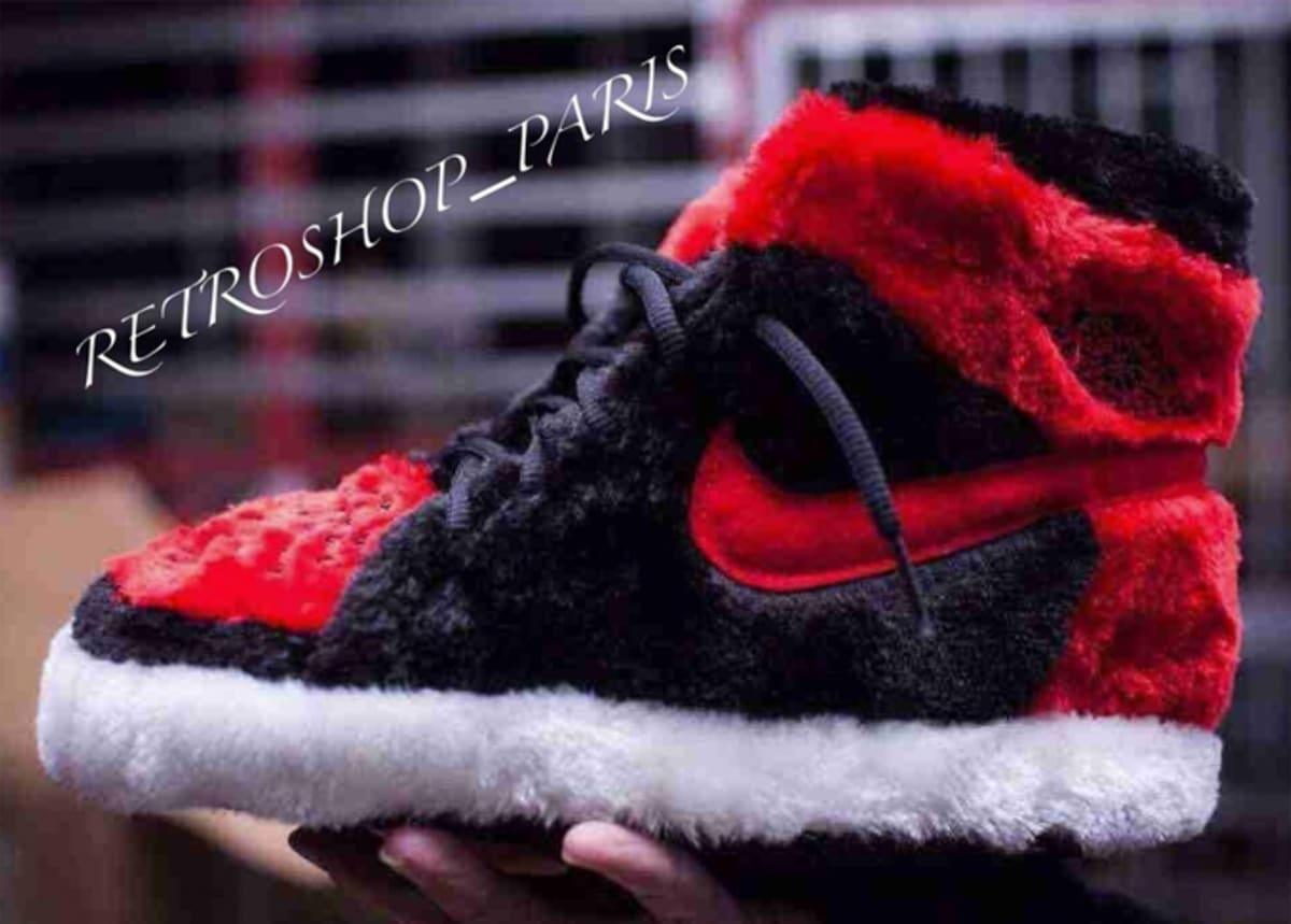 5fda235814a65 Cozy Takes Flight in These Air Jordan 1-Inspired Slippers