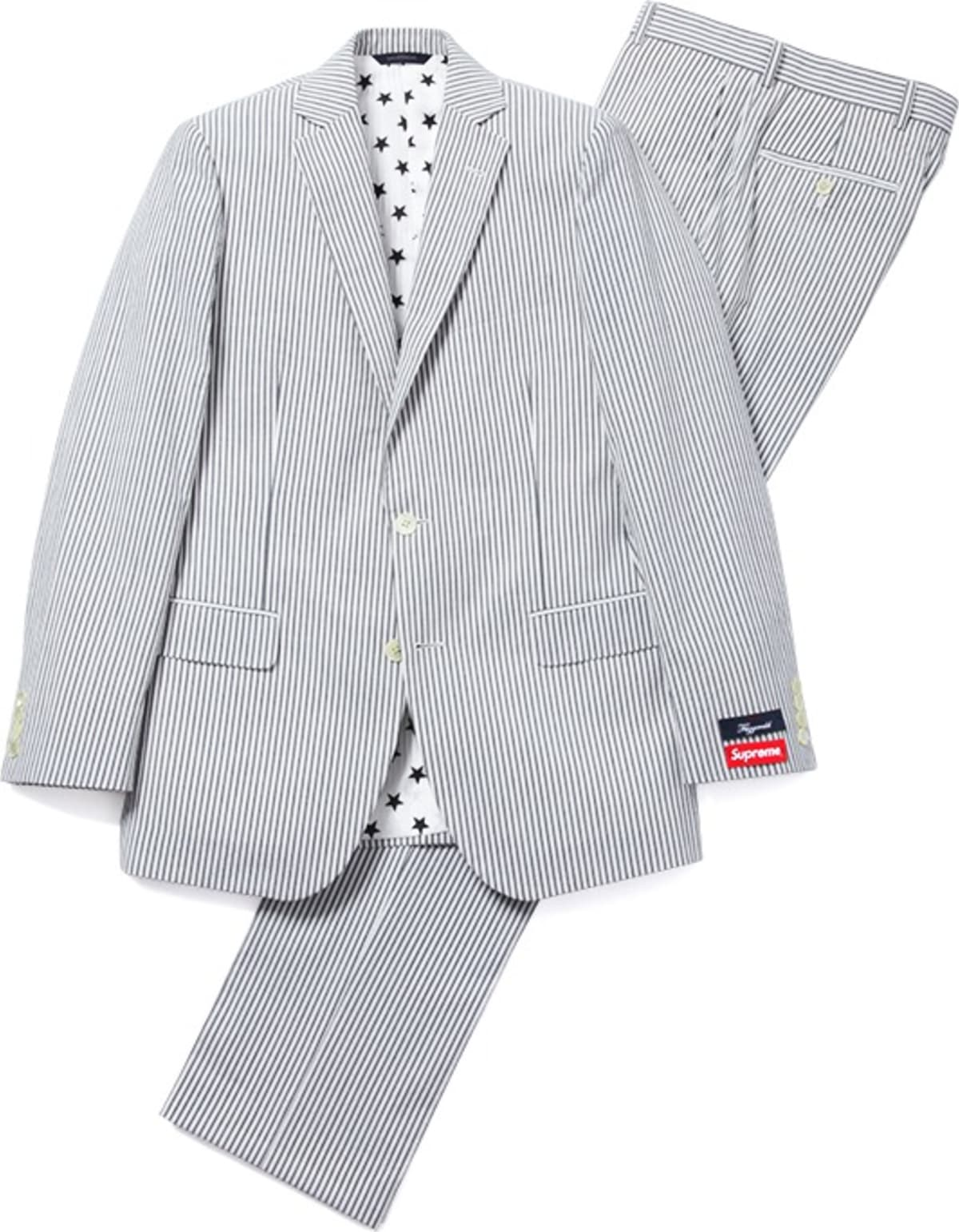 It S Official The Supreme X Brooks Brothers Seersucker