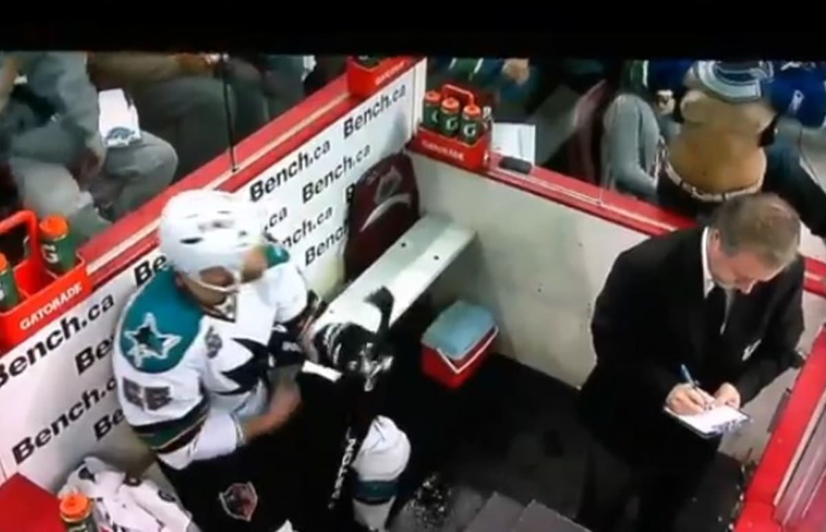 What Is A Class Action Lawsuit >> A Female Hockey Fan Flashes a Player in the Penalty Box   Complex