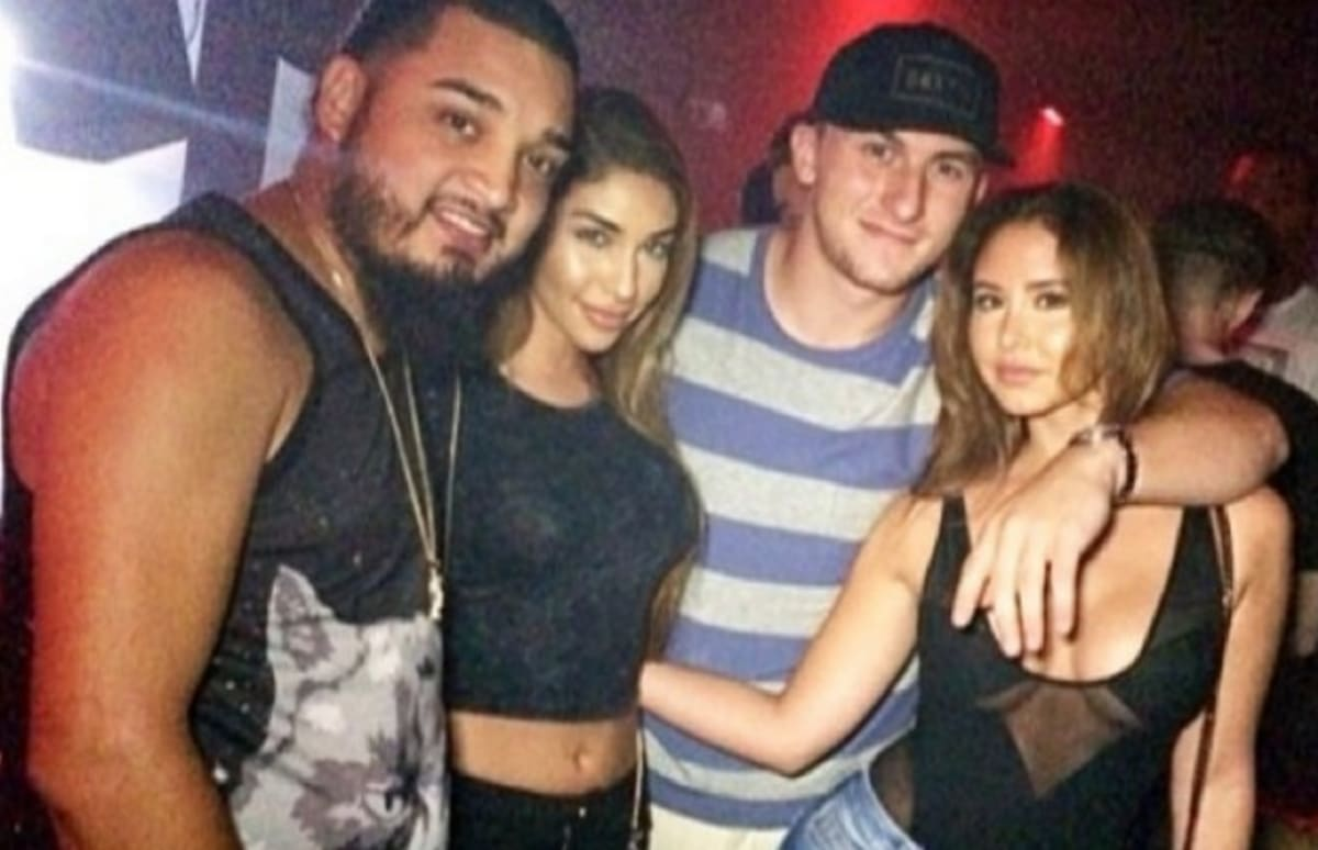 Johnny Manziel Was Spotted Partying With Model Chantel
