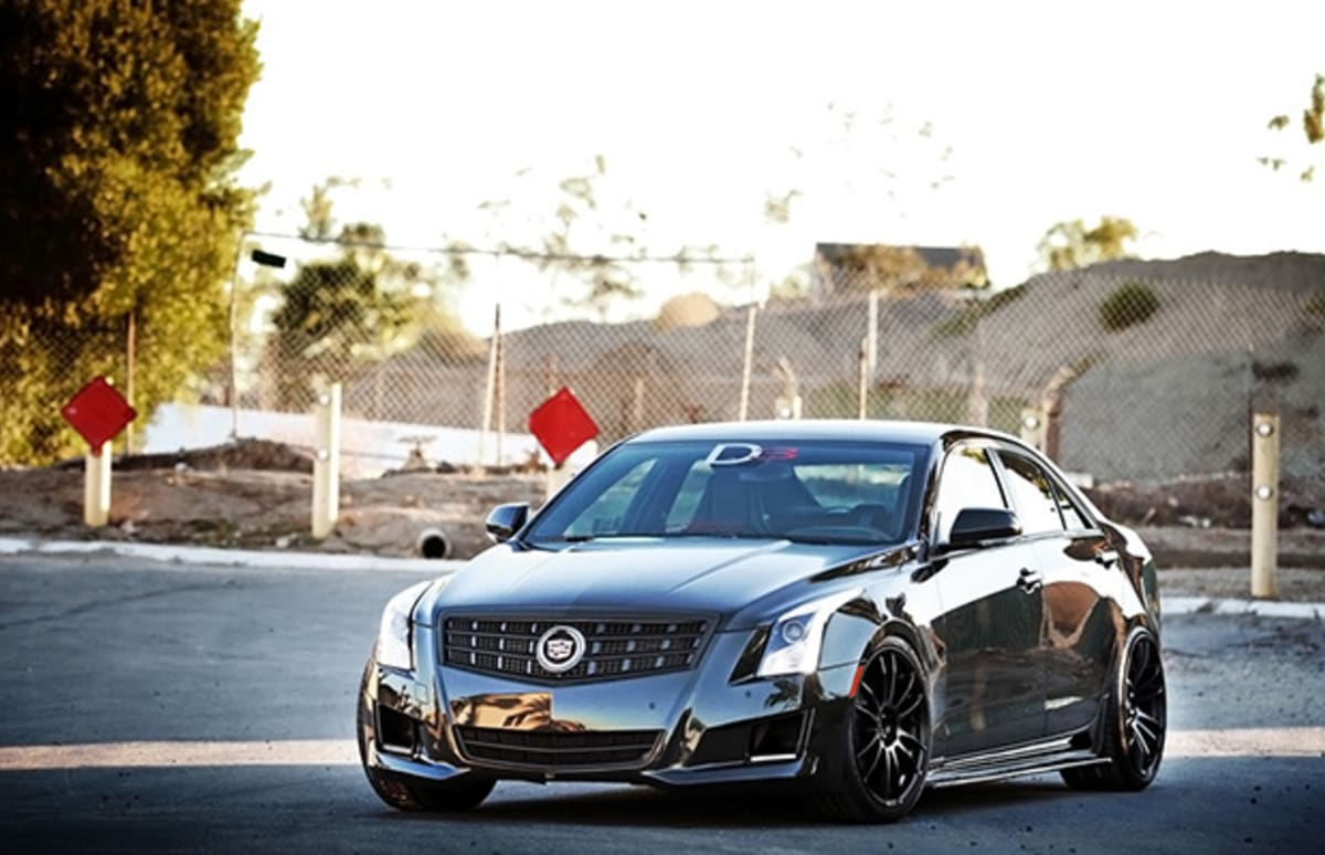 D3 Customizes The Cadillac Ats Complex