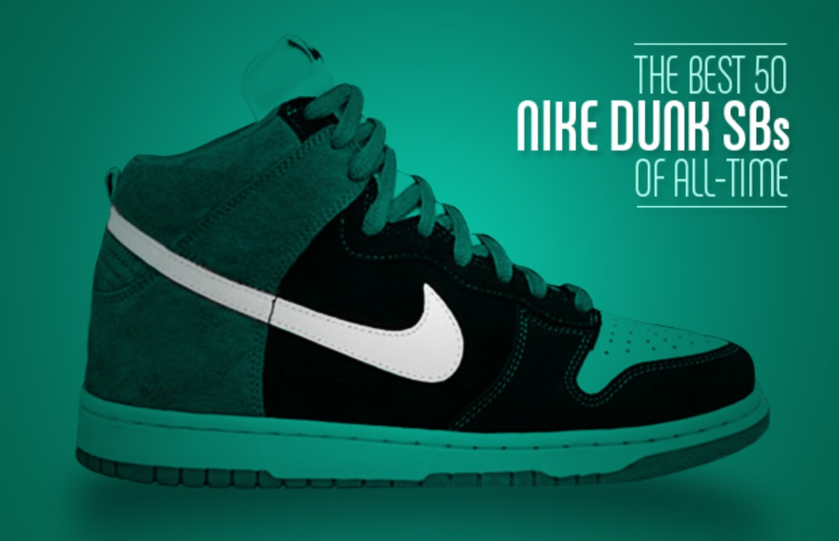 35adf365ede8 The Best 50 Nike Dunk SBs Of All-Time