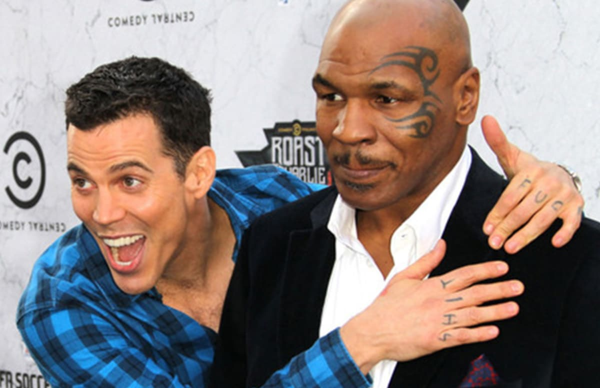 Steve o says he mike tyson had a great talk about racism for Tyson motors service hours