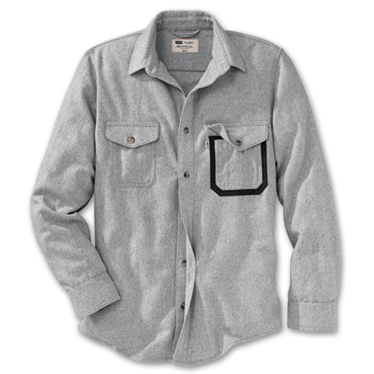 filson and levi 39 s fishing shirt will keep you warm while