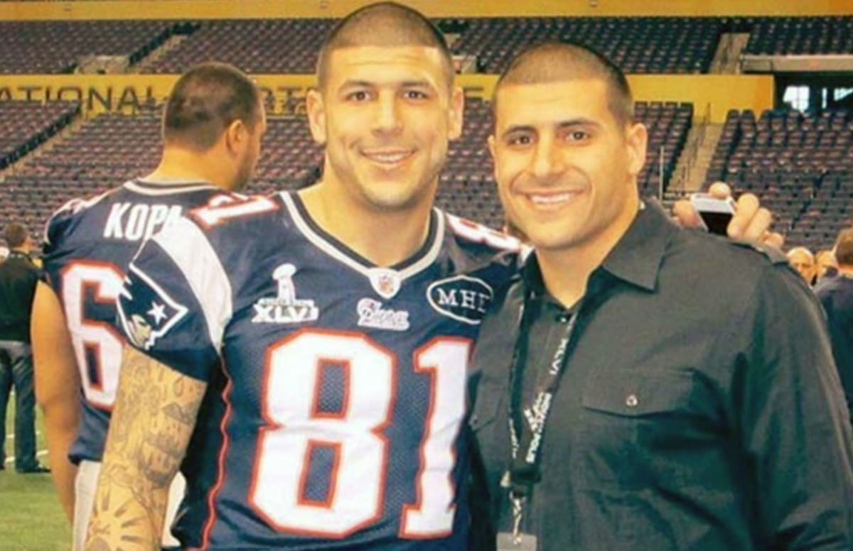 aaron hernandez�s brother reveals what it�s like to visit