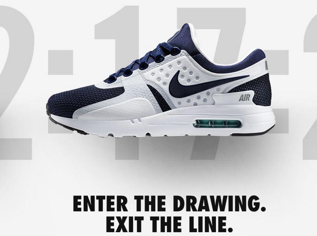 Sneaker raffle app