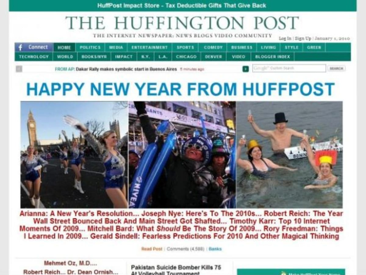 AOL Buys The Huffington Post for $315M