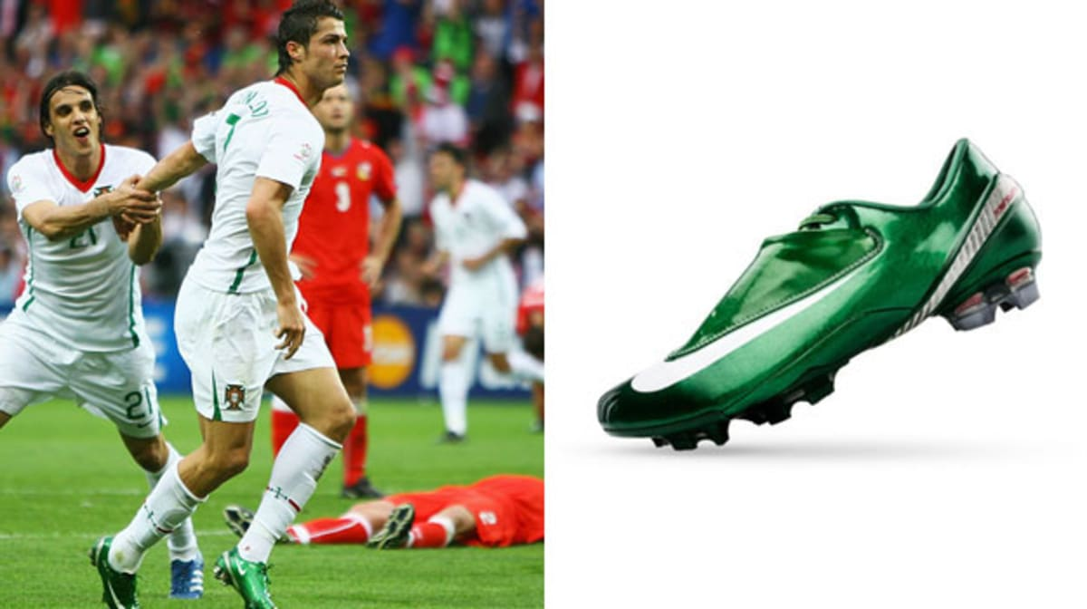 The Complete Soccer Cleat History of Cristiano Ronaldo  351f40f1b7