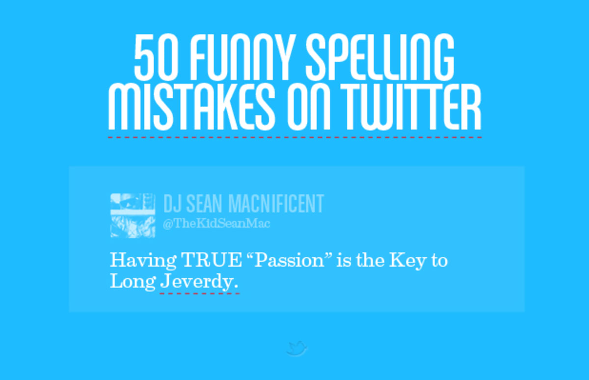 50 Funny Spelling Mistakes On Twitter Complex