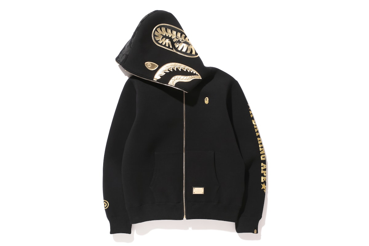 A Bathing Ape Black Now We Actually...