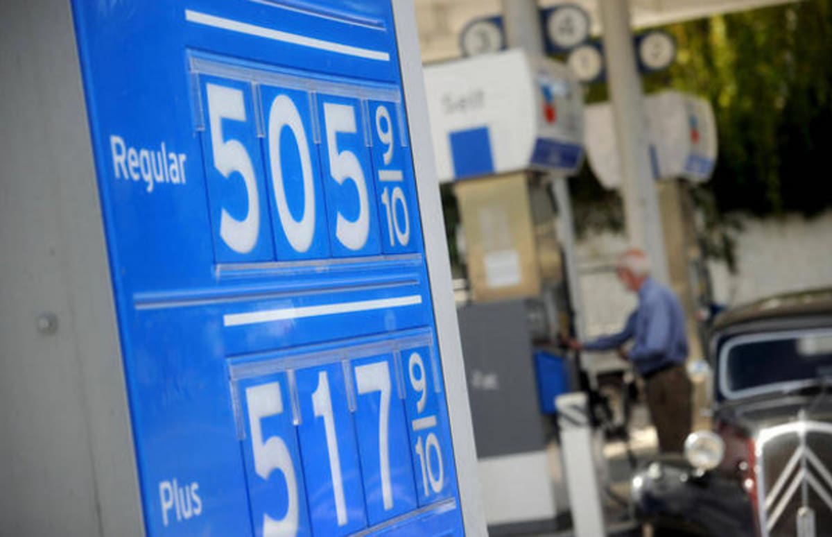 an analysis of gas prices having soared to all time highs