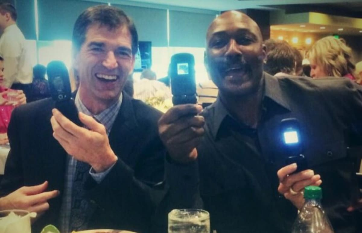 Old Classic Cars >> John Stockton and Karl Malone Haven't Gotten Around to Getting Rid of Their Old Flip Phones Just ...