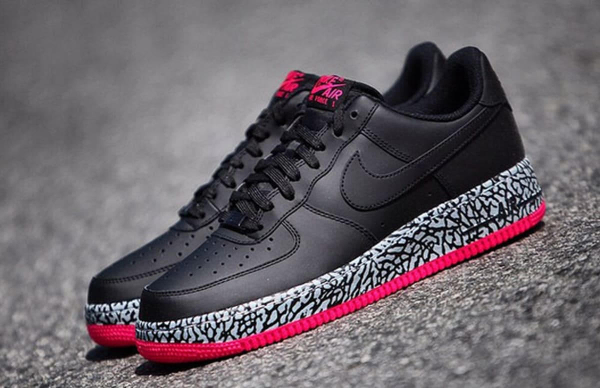 nike air force one foamposite pink elephant wearable complex. Black Bedroom Furniture Sets. Home Design Ideas