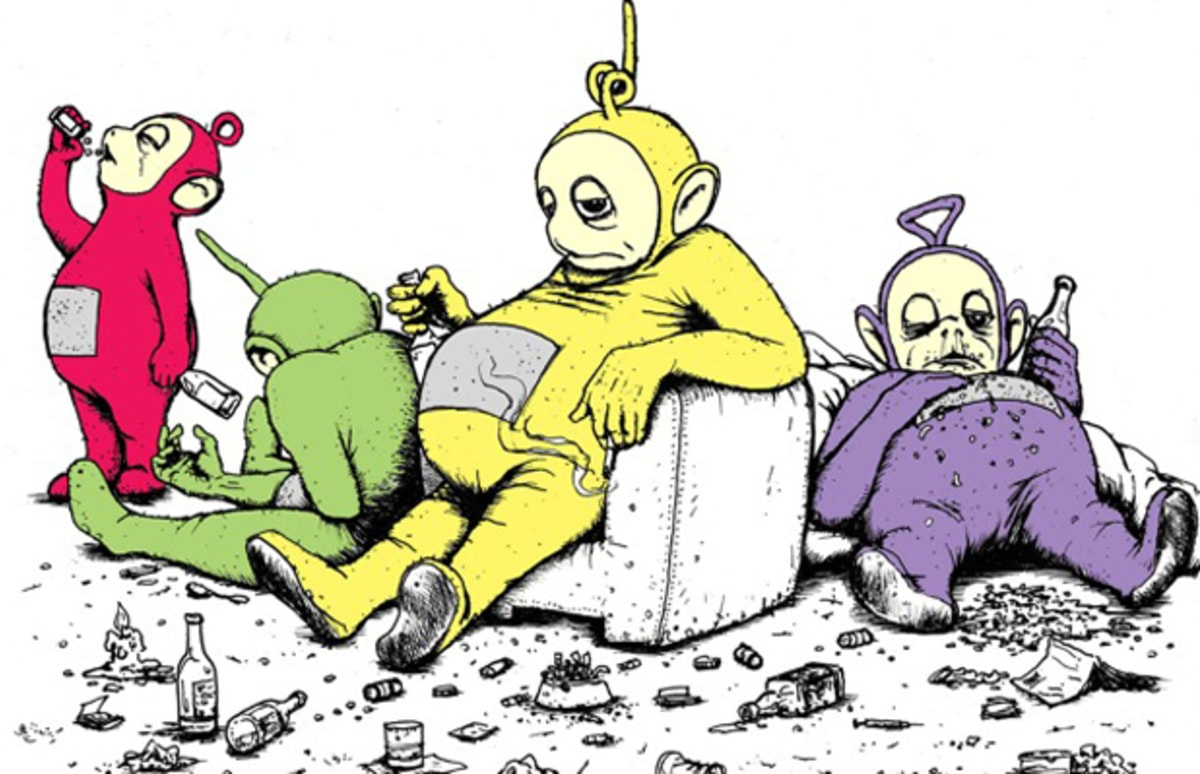 an overview of the sexual implications of the teletubbies cartoon Because it was suggested in the national libery journal that one of the teletubbies named tinky winky would be pulled because of the possible sexual.