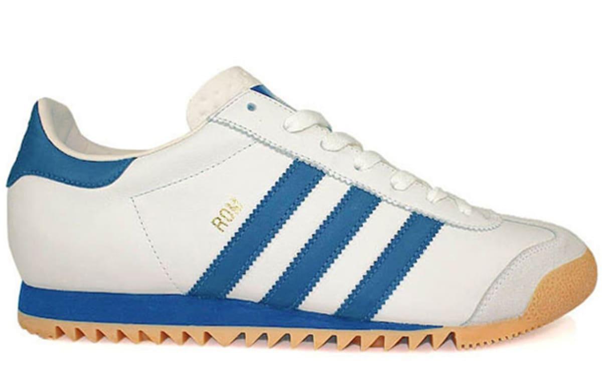 Adidas Originals Rom Quot White Blue Gum Quot Complex