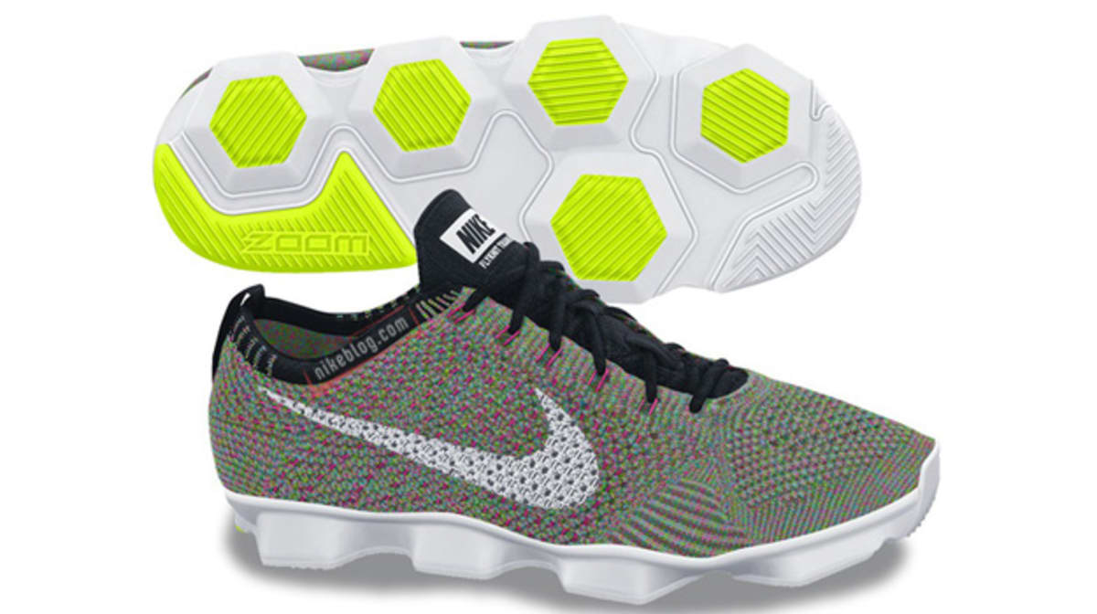 factory authentic f0a5b cb723 nike zoom fit agility flyknit