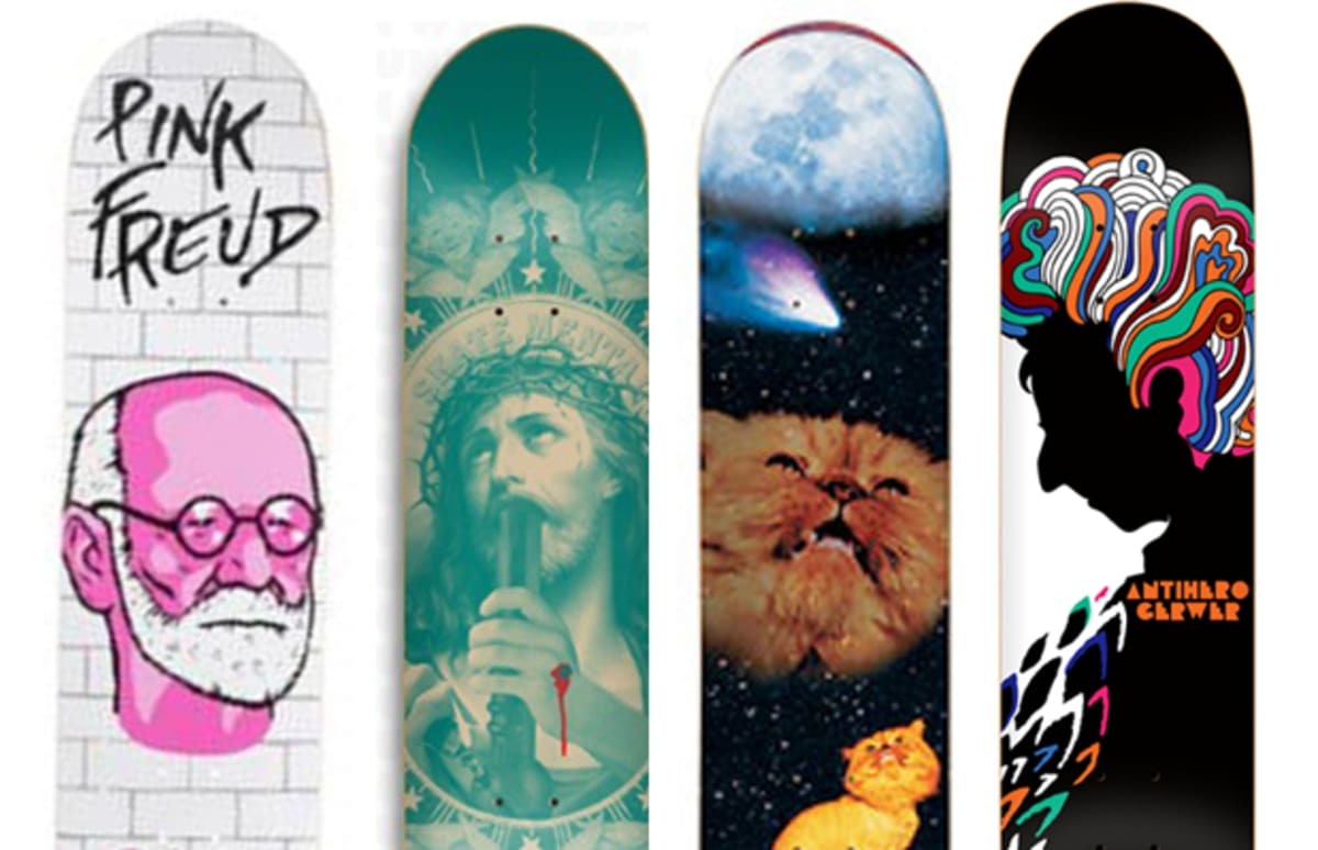 the 25 best skate decks of 2011 so far complex