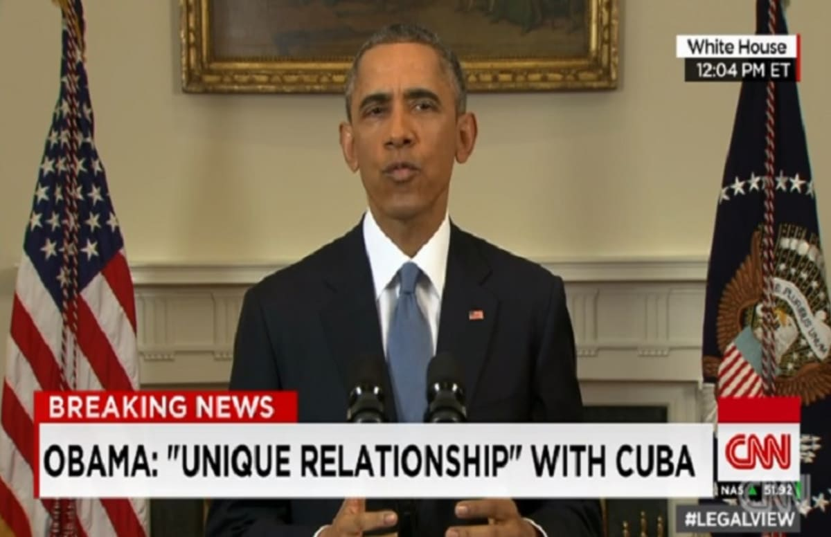 the relationship between the united states and cuba Lift the embargo, president barack obama said during his final state of the union address on tuesday night, addressing the relationship between the united states.