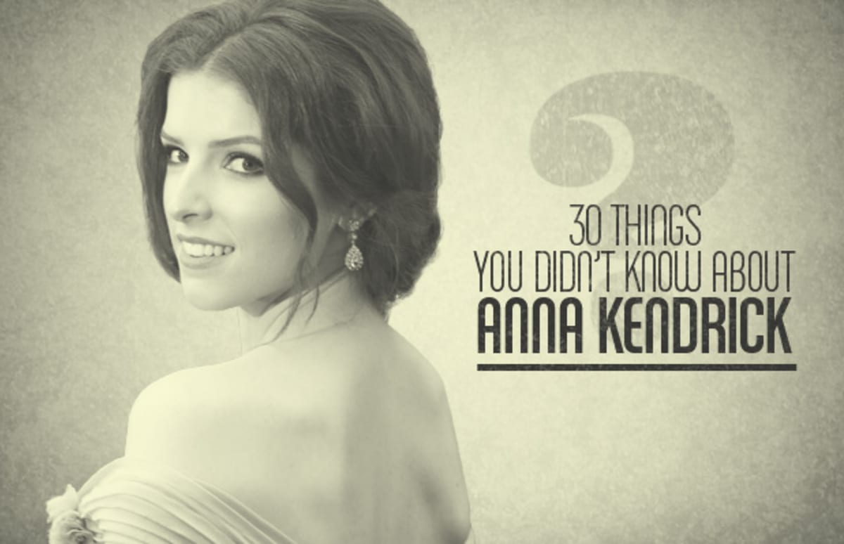 30 things you didn 39 t know about anna kendrick 30 things you didn 39 t know about anna kendrick. Black Bedroom Furniture Sets. Home Design Ideas