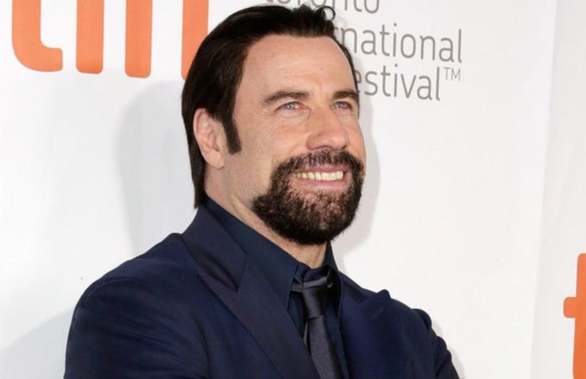 Weird Facial Hair Styles: John Travolta's Facial Hair Is Slowly Consuming His Face