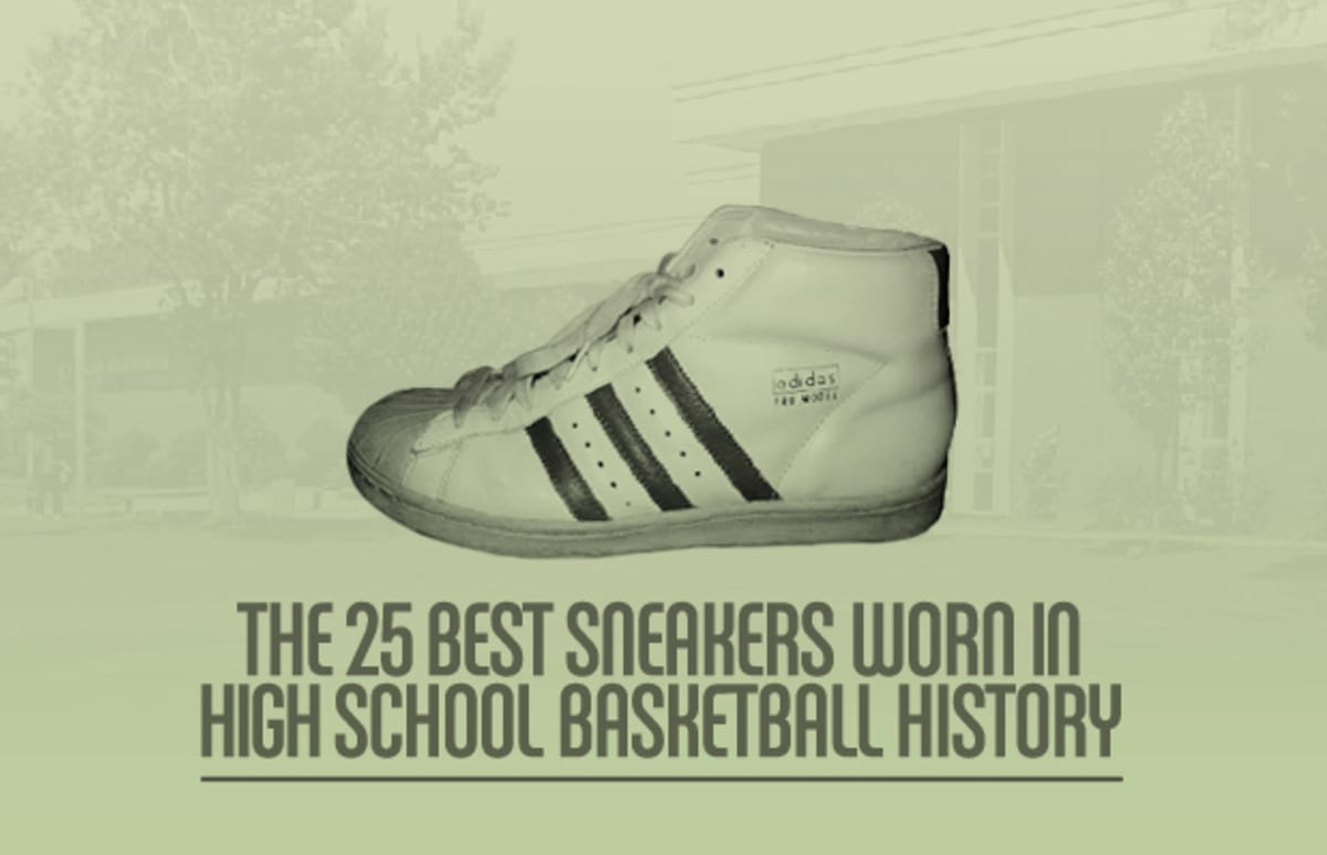 newest b1183 edff9 The 25 Best Sneakers Worn in High School Basketball History