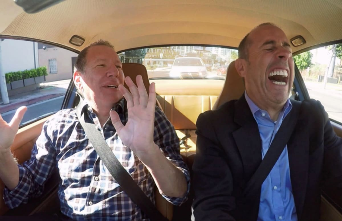 Garry Shandling S Appearance On Quot Comedians In Cars Getting