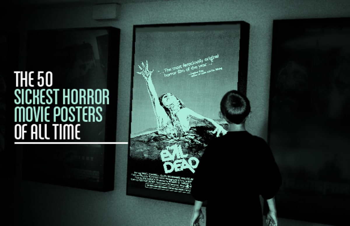 gallery the 50 sickest horror movie posters of all time complex