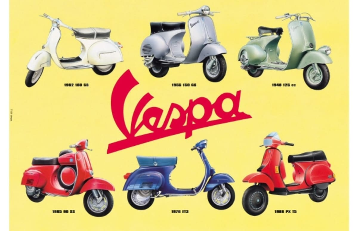 The Great Debate 10 Reasons To Drive A Vespa And Why Hand Some Boy Scooter Wire Diagram Theyre Lame Complex