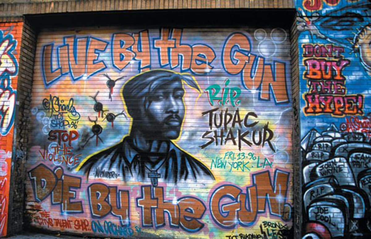 40 dope rap murals complex for 2pac mural new york