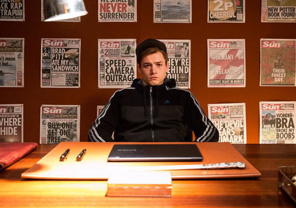 Kingsman The Secret Service Interview Taron Egerton: Interview: Kingsman's Taron Egerton