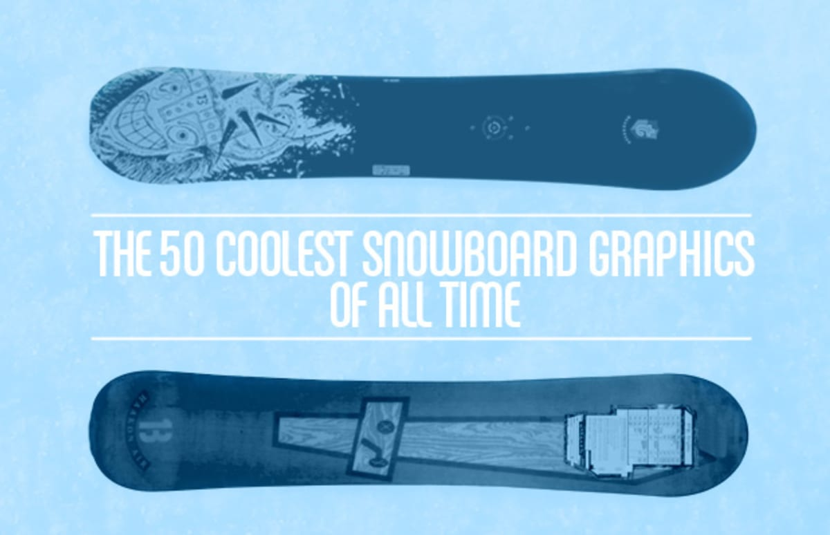 ca321a139be The 50 Coolest Snowboard Graphics Of All Time