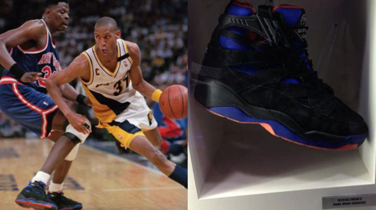 Today in Performance Sneaker History Patrick Ewing Leads Knicks