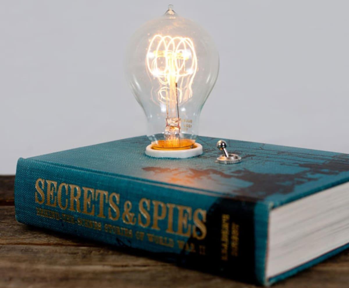 Hardback Book Lamp Complex