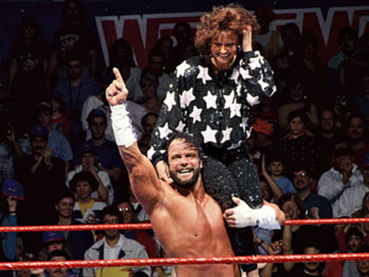 Image result for miss elizabeth and macho man