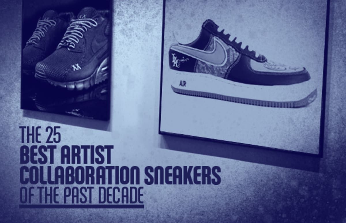 7230d8859aa2 The 25 Best Artist Collaboration Sneakers of the Past Decade