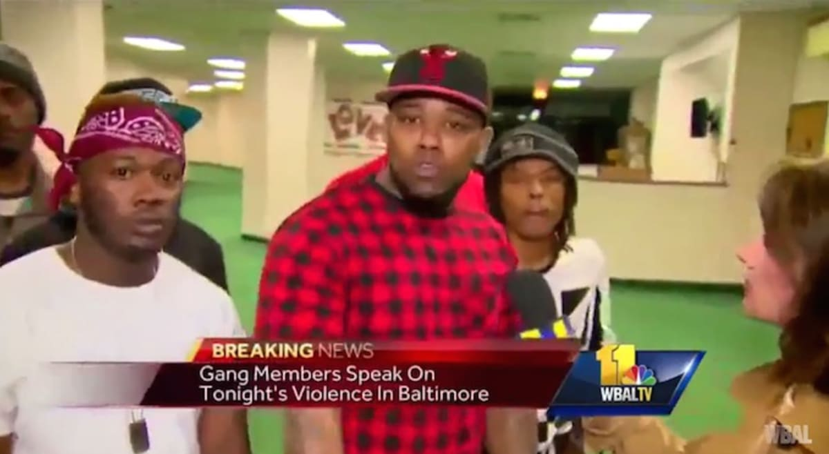 Baltimore Gang Members Join City Council to Ask for End of Violence  (Updated)   Complex