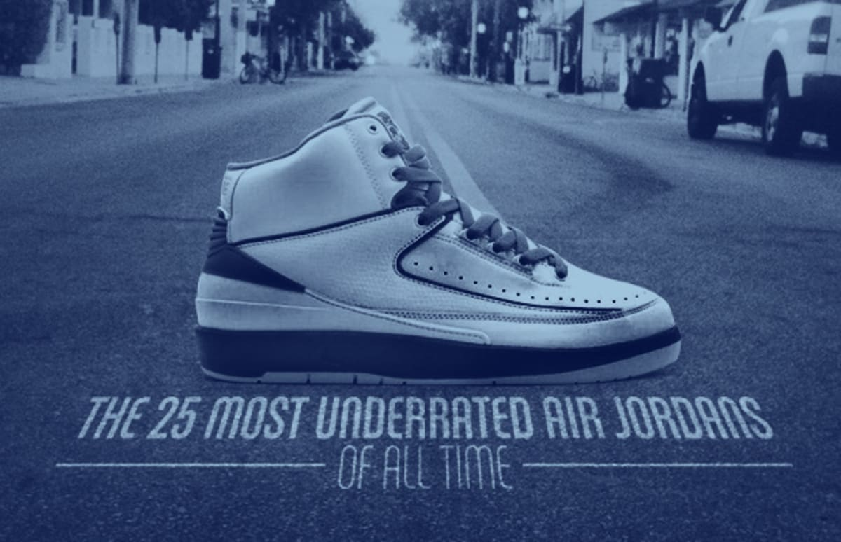 9f2df78c2474 The 25 Most Underrated Air Jordans of All Time
