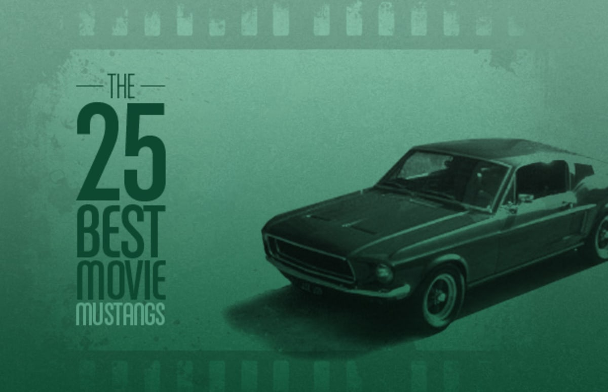 The 25 Best Movie Mustangs