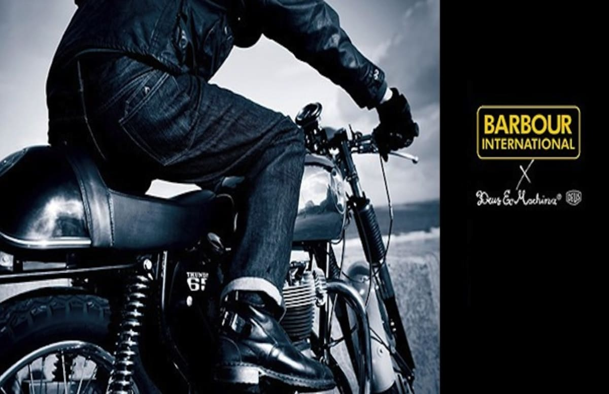 Barbour International Collaborates With Deus Ex Machina