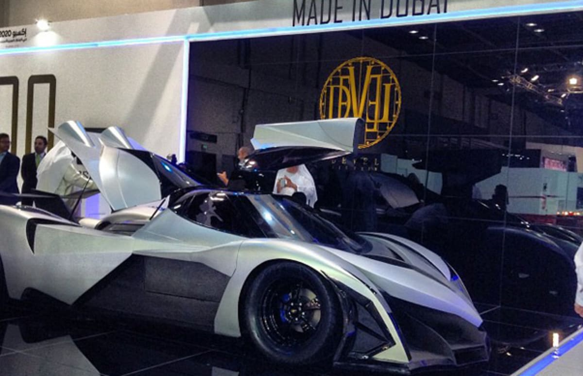"Devel 16 Car >> Dubai Car Company Devel Says Its ""Sixteen"" Supercar Has 5,000 Horsepower and Goes 348 MPH, We ..."