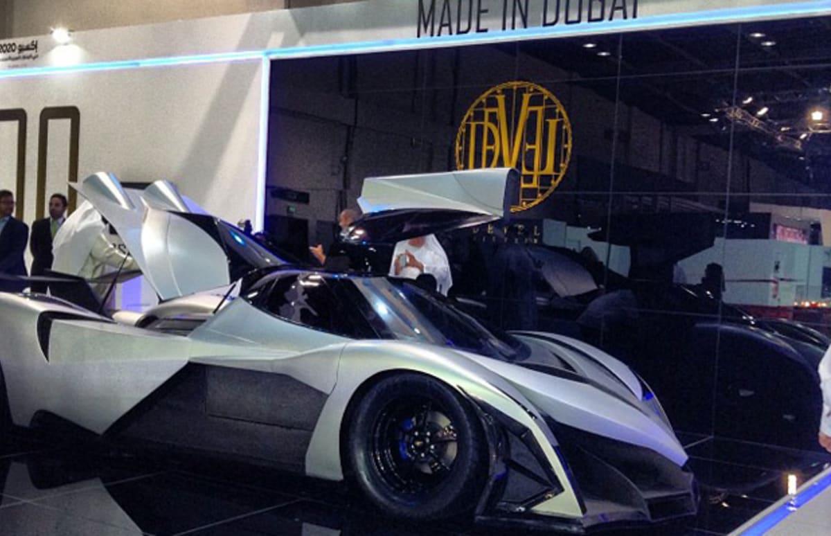 "Dubai Car Company Devel Says Its ""Sixteen"" Supercar Has ..."