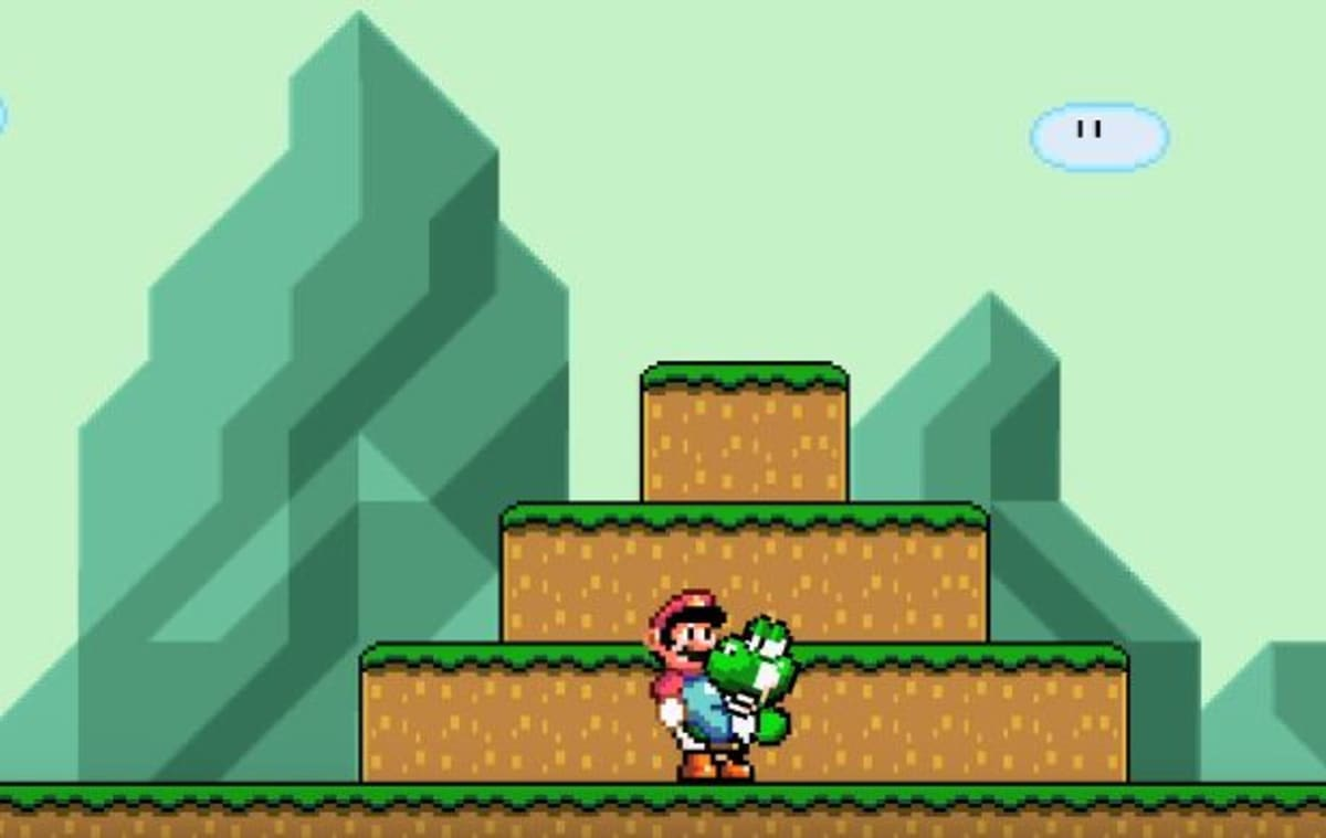 Watch Yoshi Turn the Tables to Make Mario His 'B*tch'