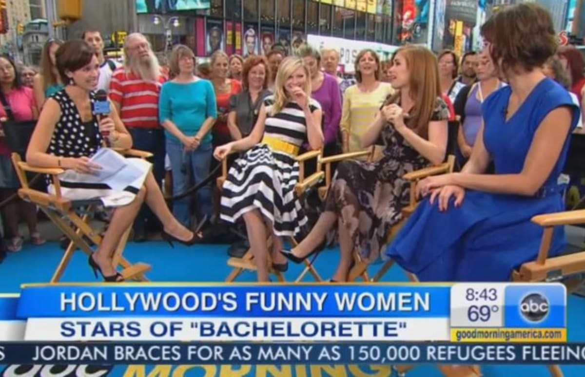 "Isla Fisher Introduces ""Good Morning America"" Host ..."
