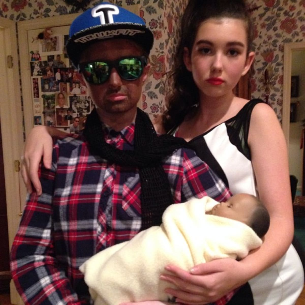 these people used blackface for their kanye west halloween