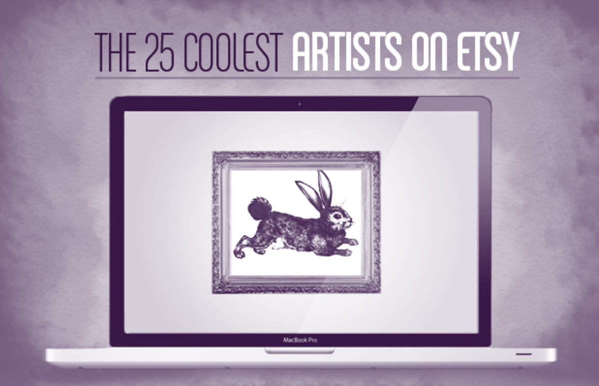 Etsy Art The 25 Coolest Artists On Etsy Complex