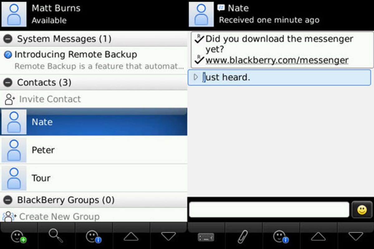 BB Messenger Could Reach Android Within Little