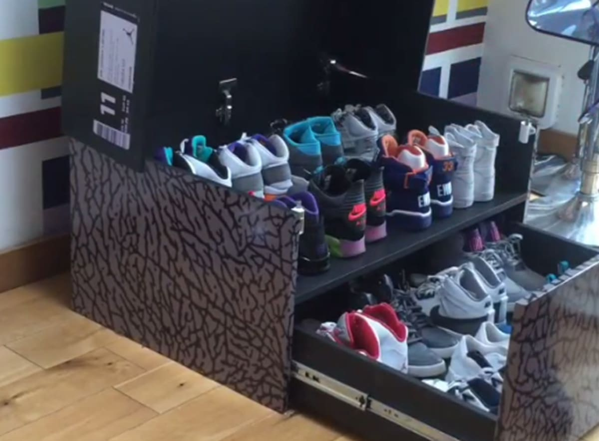 Air Jordan Iii And Nike Sportswear Sneaker Box Storage